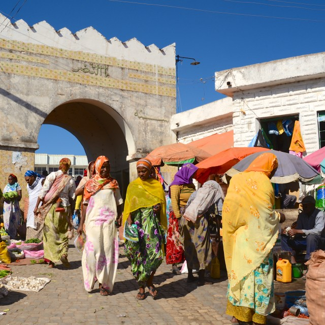 """Harar Gate"" stock image"