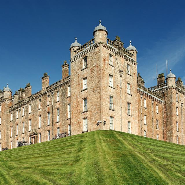 """Drumlanrig Castle"" stock image"