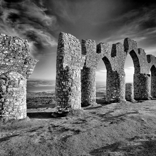 """Fyrish monument"" stock image"