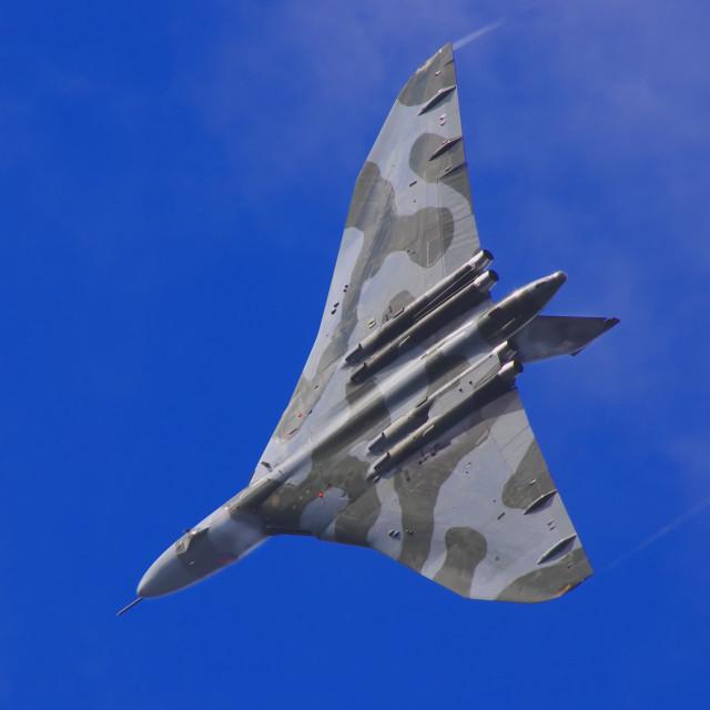 """""""Vulcan bomber"""" stock image"""