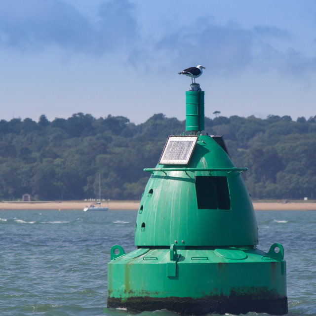 """Buoy"" stock image"