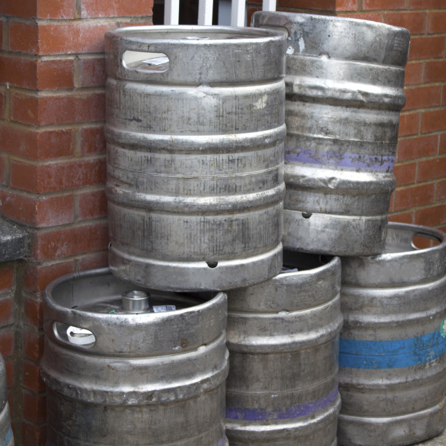 """Beer barrells"" stock image"