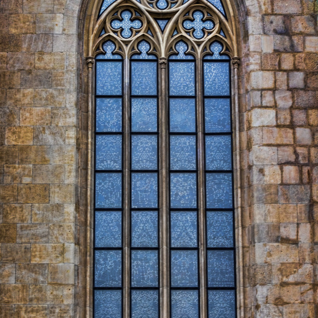 """Church window"" stock image"