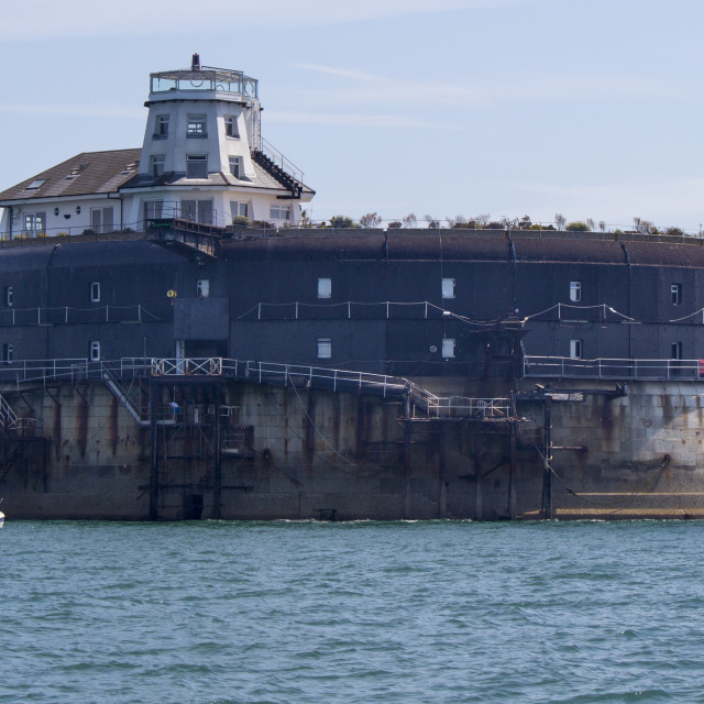 """Sea fort"" stock image"