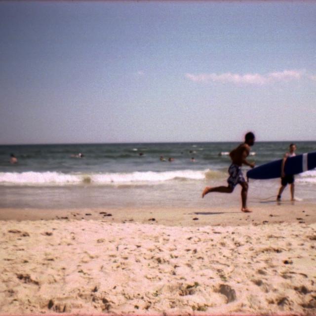 """""""Rockaway Beach, NY"""" stock image"""