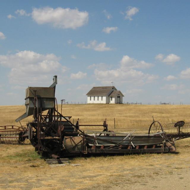 """Wagons ho"" stock image"