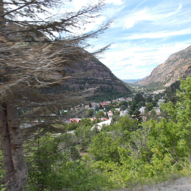 """Ouray"" stock image"
