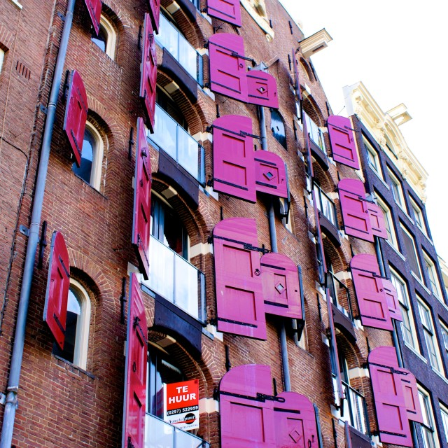 """Amsterdam Opening Doors"" stock image"
