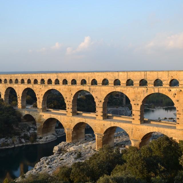 """Pont du Gard"" stock image"