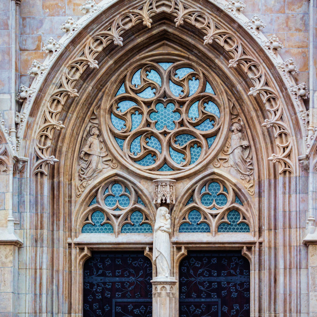 """Church door"" stock image"