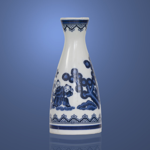 """Sake jar"" stock image"
