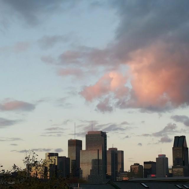 """Montreal skyline"" stock image"