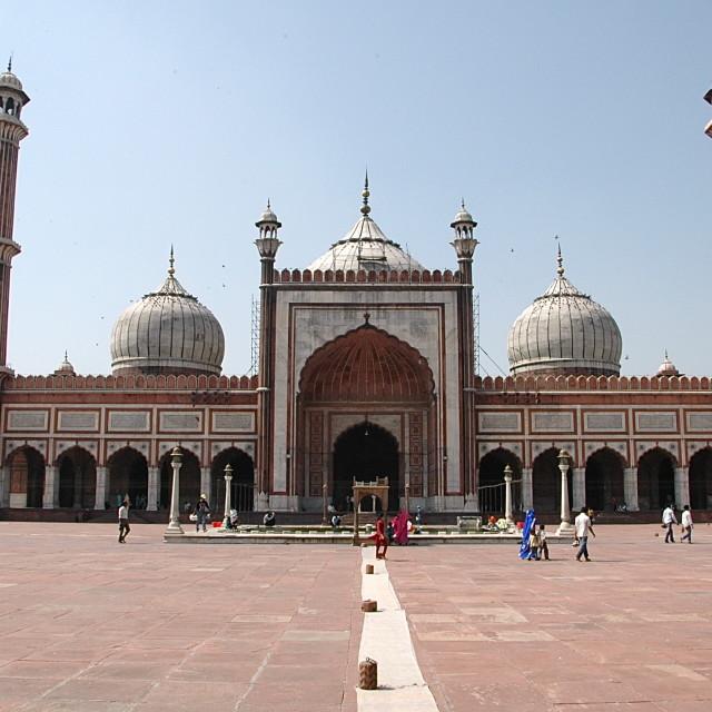 """Jama Masjid"" stock image"
