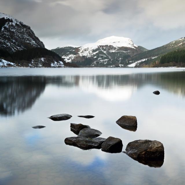 """Loch Lubnaig"" stock image"