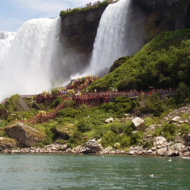 """Niagara Falls"" stock image"