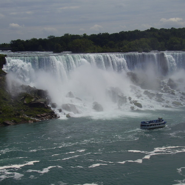 """Maid of the Mist"" stock image"