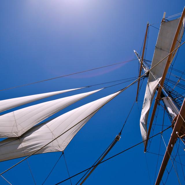 """Sky Sails"" stock image"