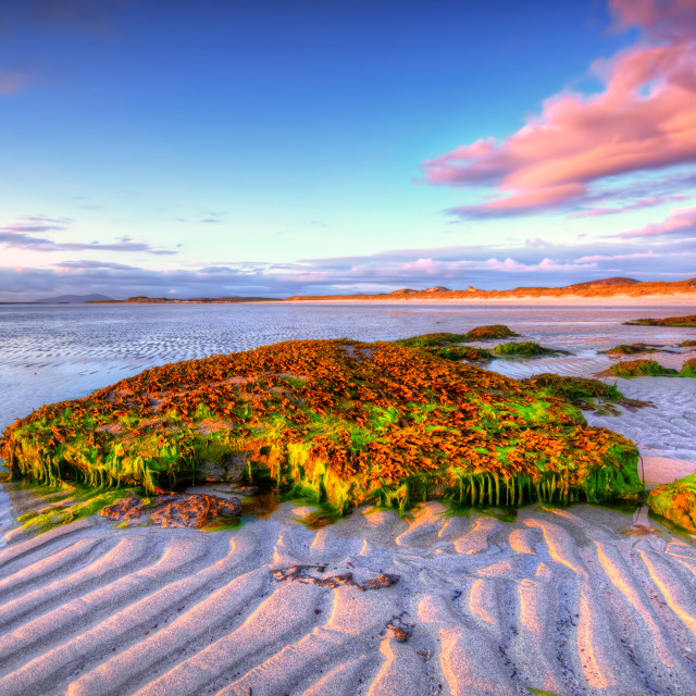 """Clachan, North Uist"" stock image"