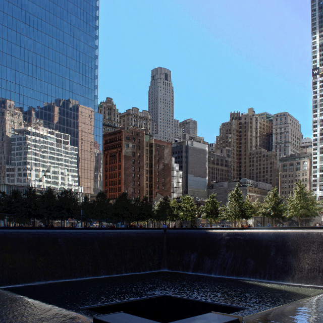"""911 Memorial South Pool"" stock image"