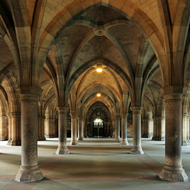 """""""The Cloisters"""" stock image"""