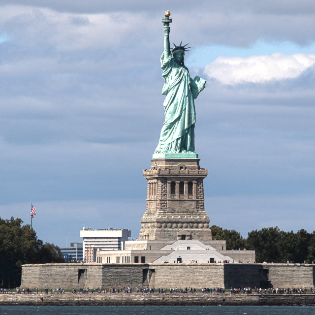 """Statue of Liberty"" stock image"