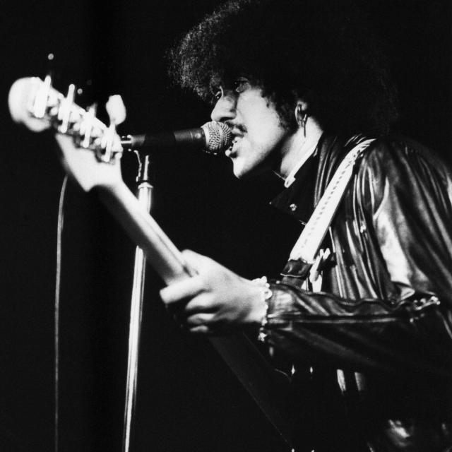 """Phil Lynott"" stock image"