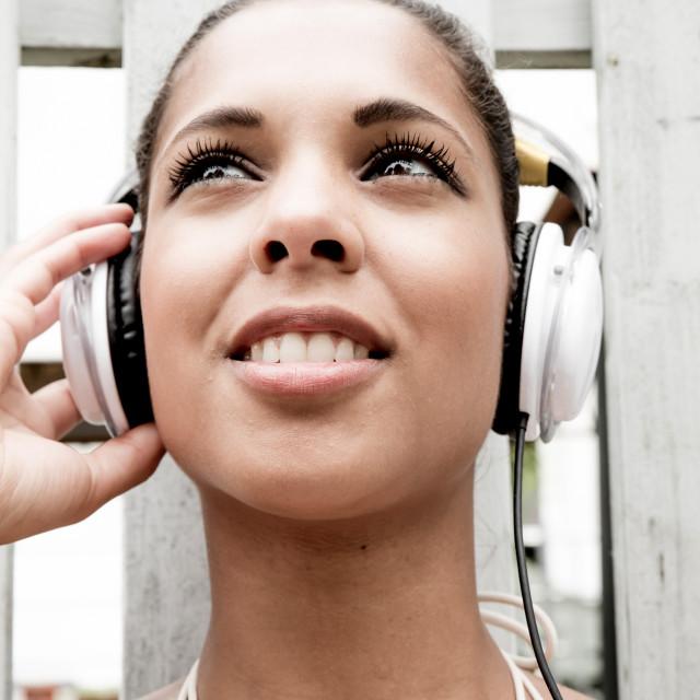 """""""Audio joy"""" stock image"""