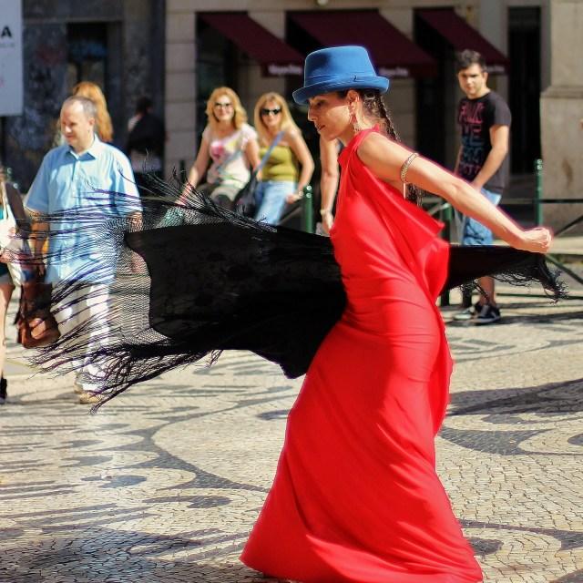 """""""Fado Dancer"""" stock image"""
