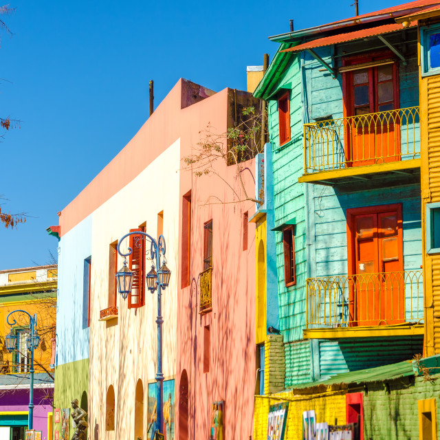 """Caminito Street in Buenos Aires"" stock image"