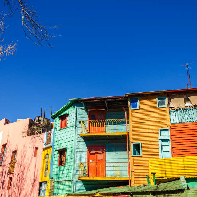 """Bright Colors in Buenos Aires"" stock image"