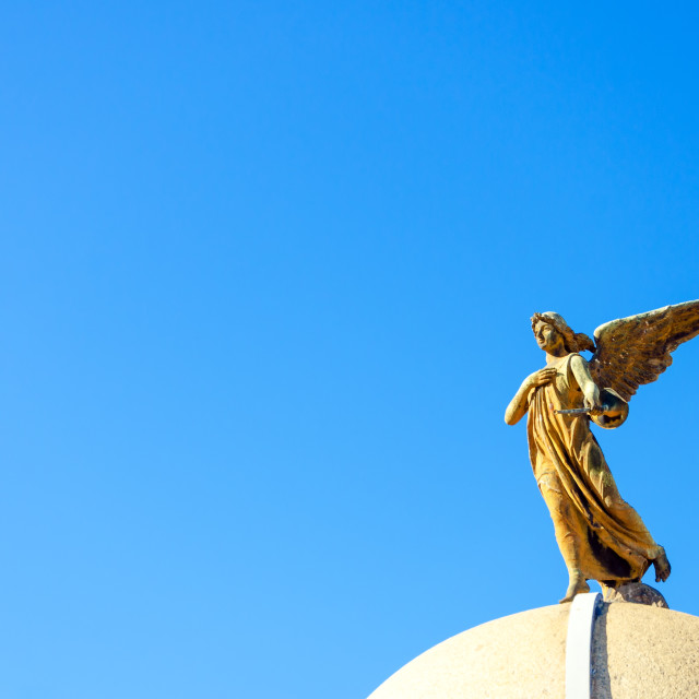 """Cemetery Angel"" stock image"
