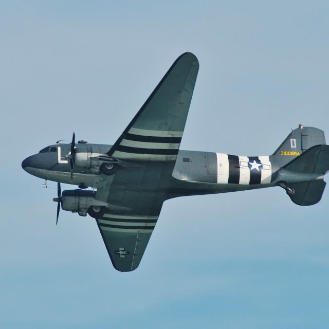 """Douglas C47-A Dakota"" stock image"