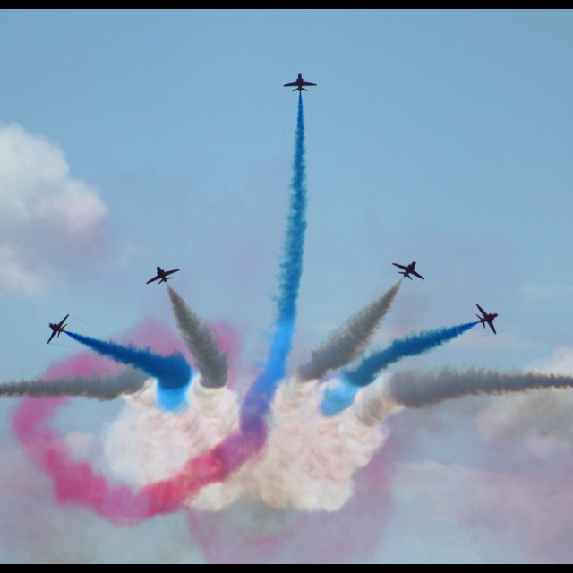 """Flying Colours"" stock image"