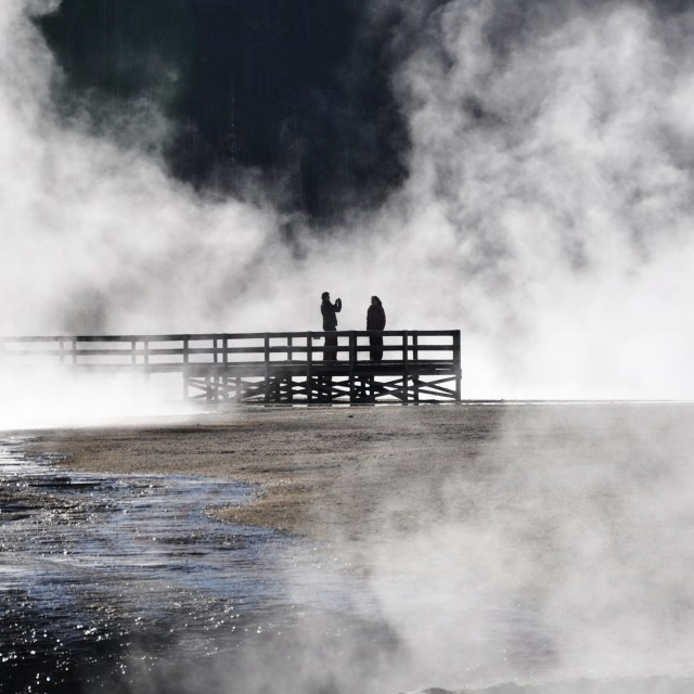 """Portrait of Yellowstone"" stock image"