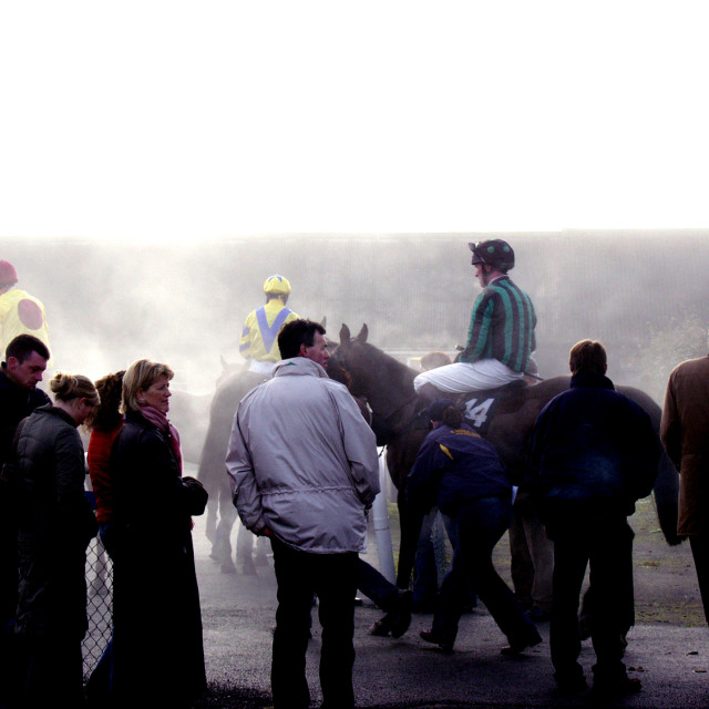 """After The Race Thurles"" stock image"