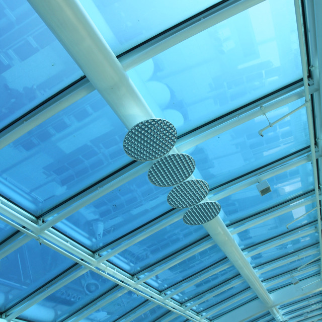 """Airport Roof"" stock image"