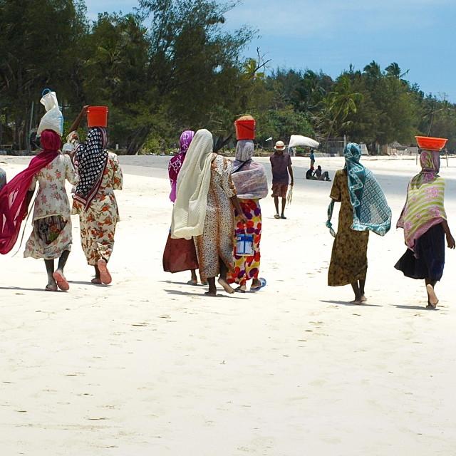 """""""Zanzibar Commute"""" stock image"""