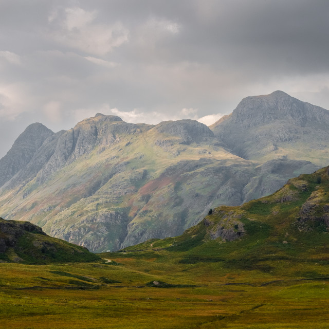 """Langdale Pikes"" stock image"
