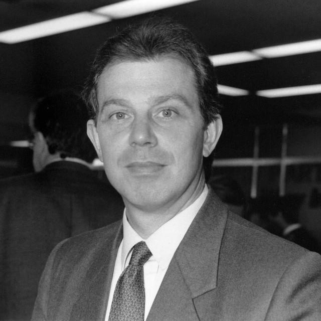 """Tony Blair"" stock image"