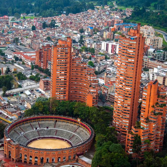 """Bogota View"" stock image"