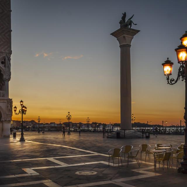 """St Marks Square Venice"" stock image"