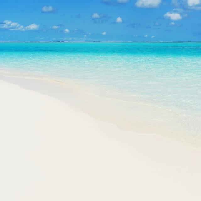 """Maldives beach"" stock image"