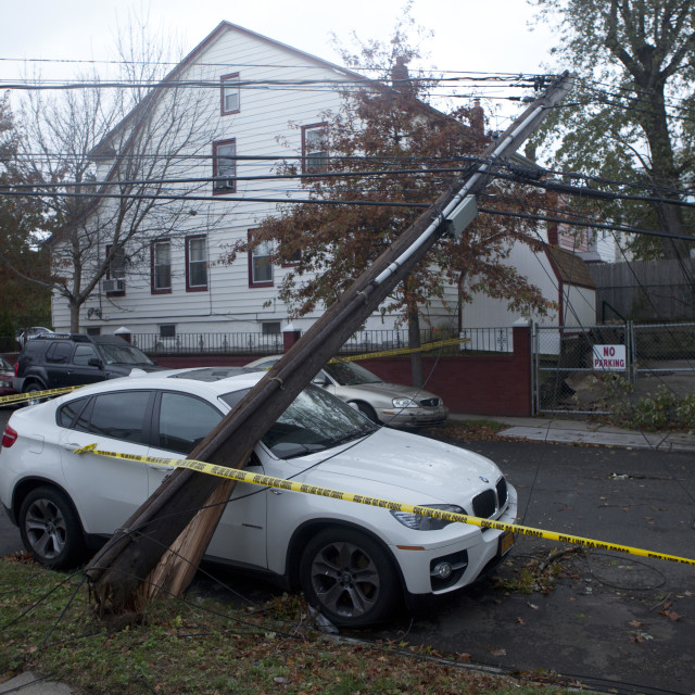 """After Hurricane Sandy"" stock image"