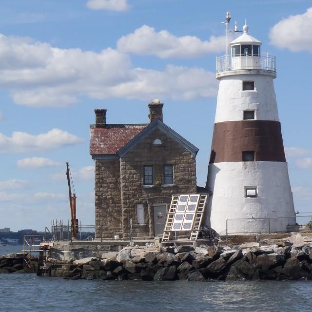 """Execution Rock Lighthouse"" stock image"