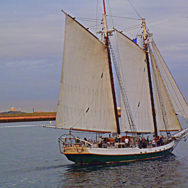 """Liberty Clipper"" stock image"