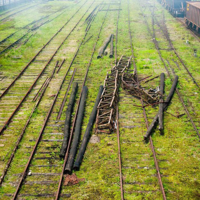 """Line Train"" stock image"
