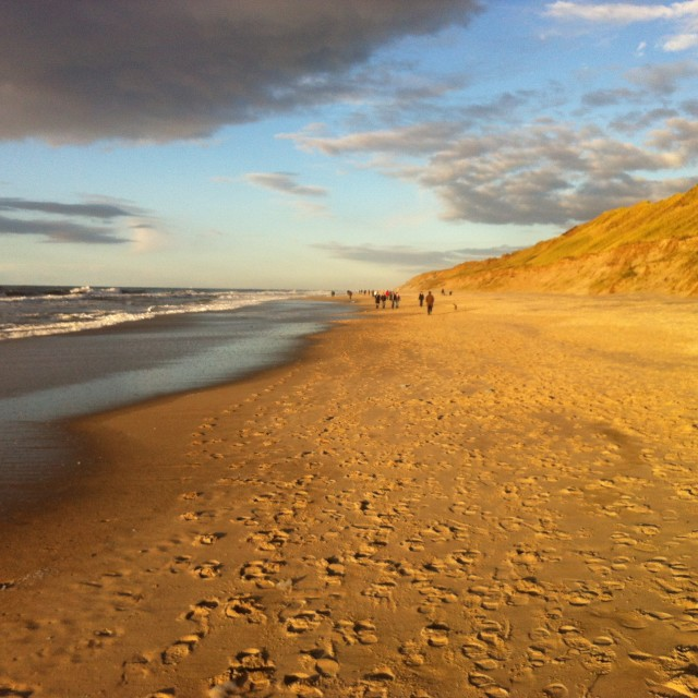 """More beach, more sky"" stock image"