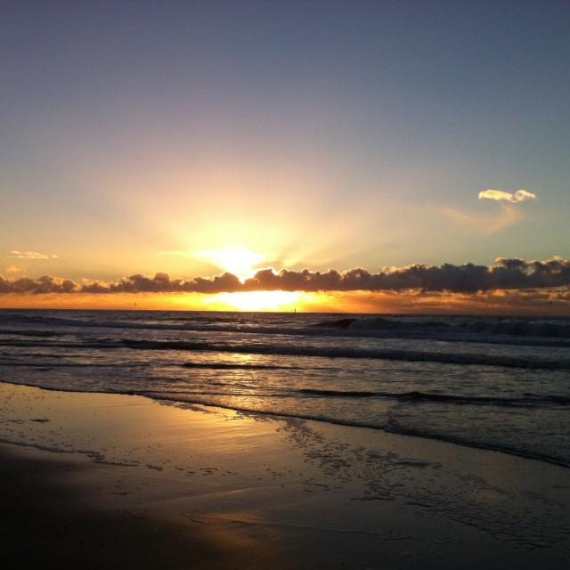 """""""Sunset I"""" stock image"""