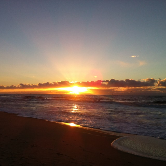 """Sunset II"" stock image"