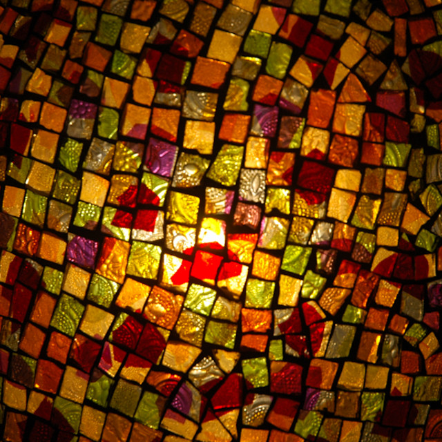 """Light mosaic"" stock image"
